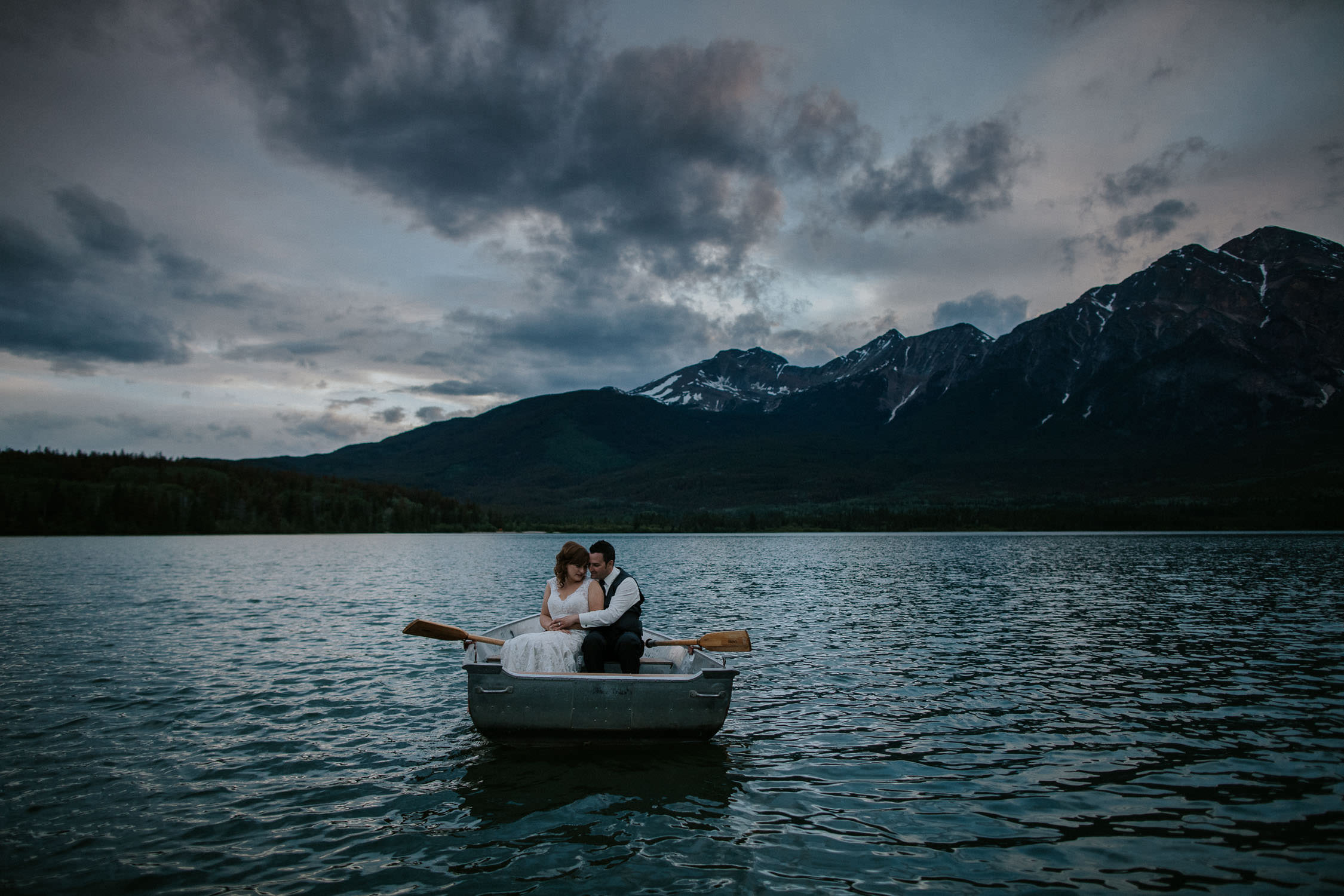 Jasper Wedding Photos at Pyramid Lake
