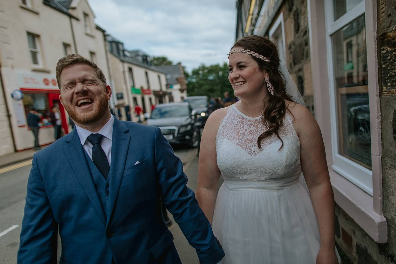 Destination Wedding Isle of Skye Portree Elopement Photos