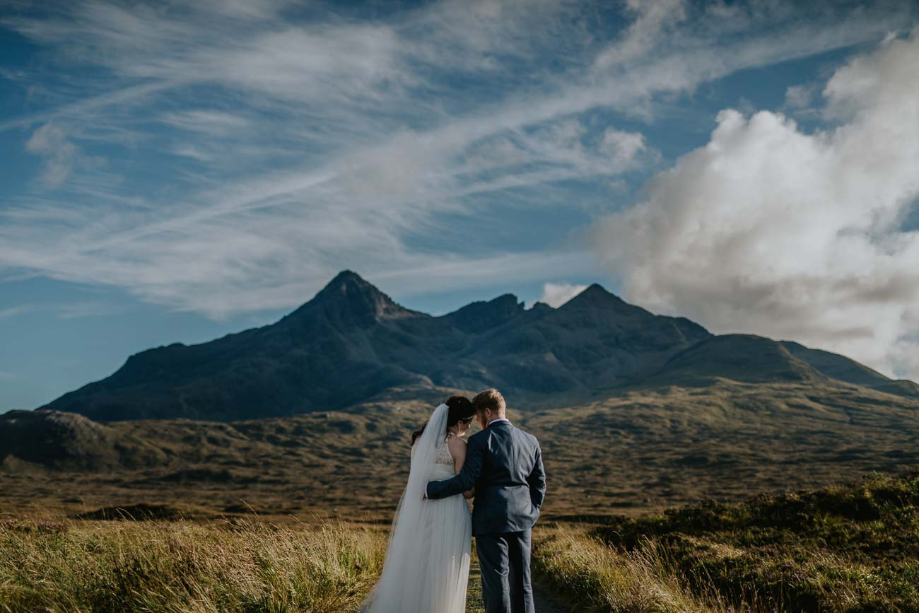 Destination Wedding Isle of Skye Sligachin Elopement Photos