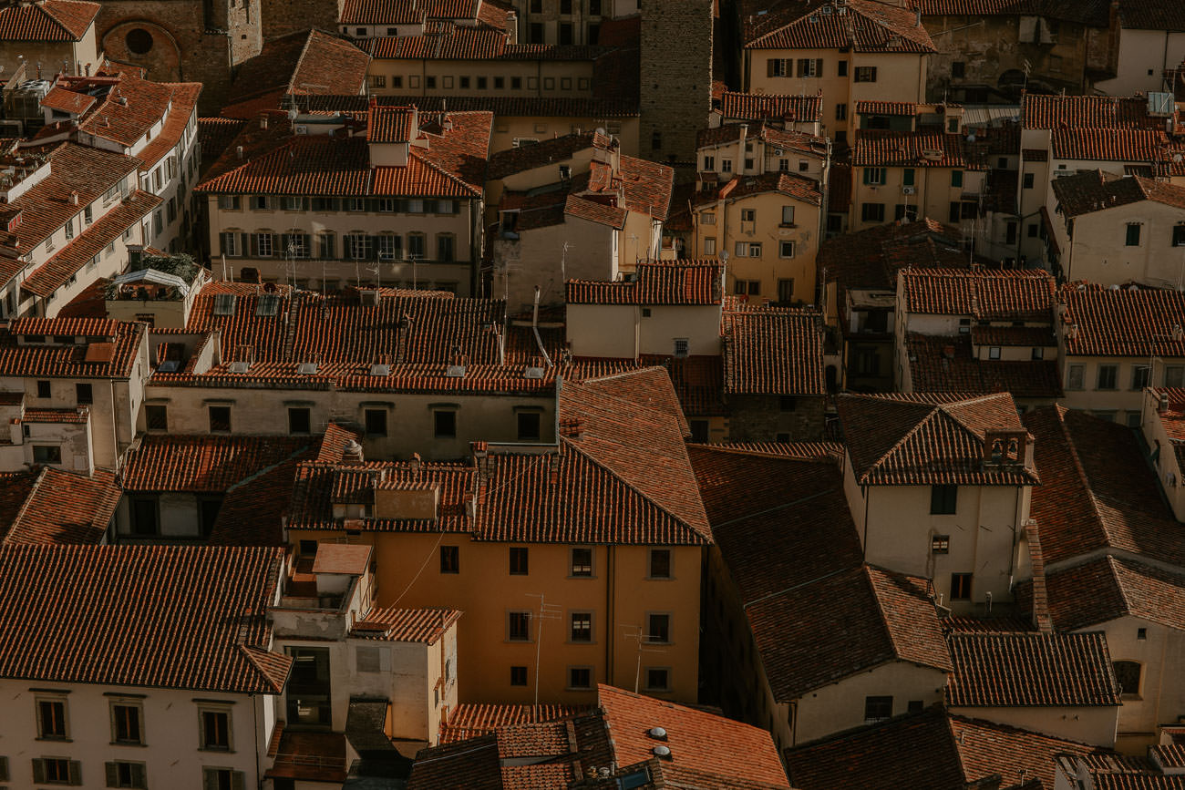 Florence Italy Tile Rooftops