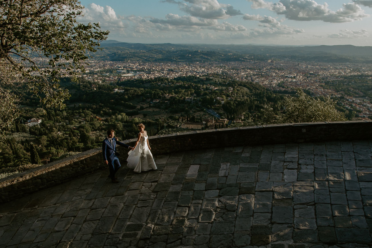 Fiesole Florence Destination Wedding Photographer Cityscape