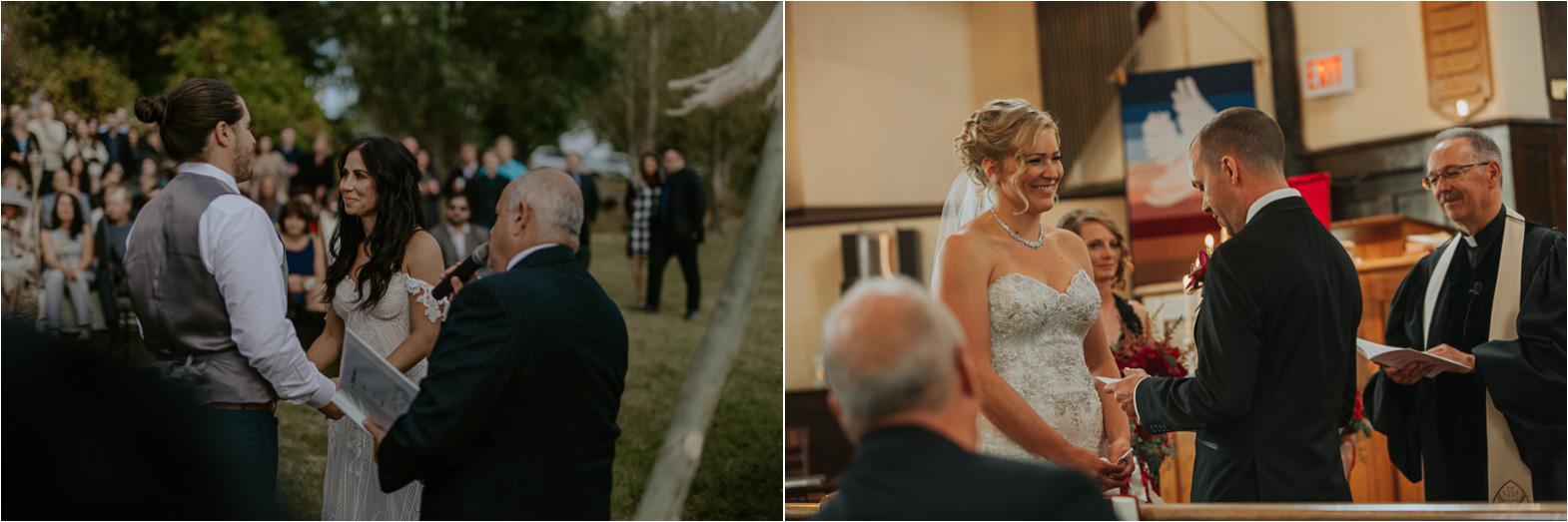 Most memorable wedding day moments - exchanging vows
