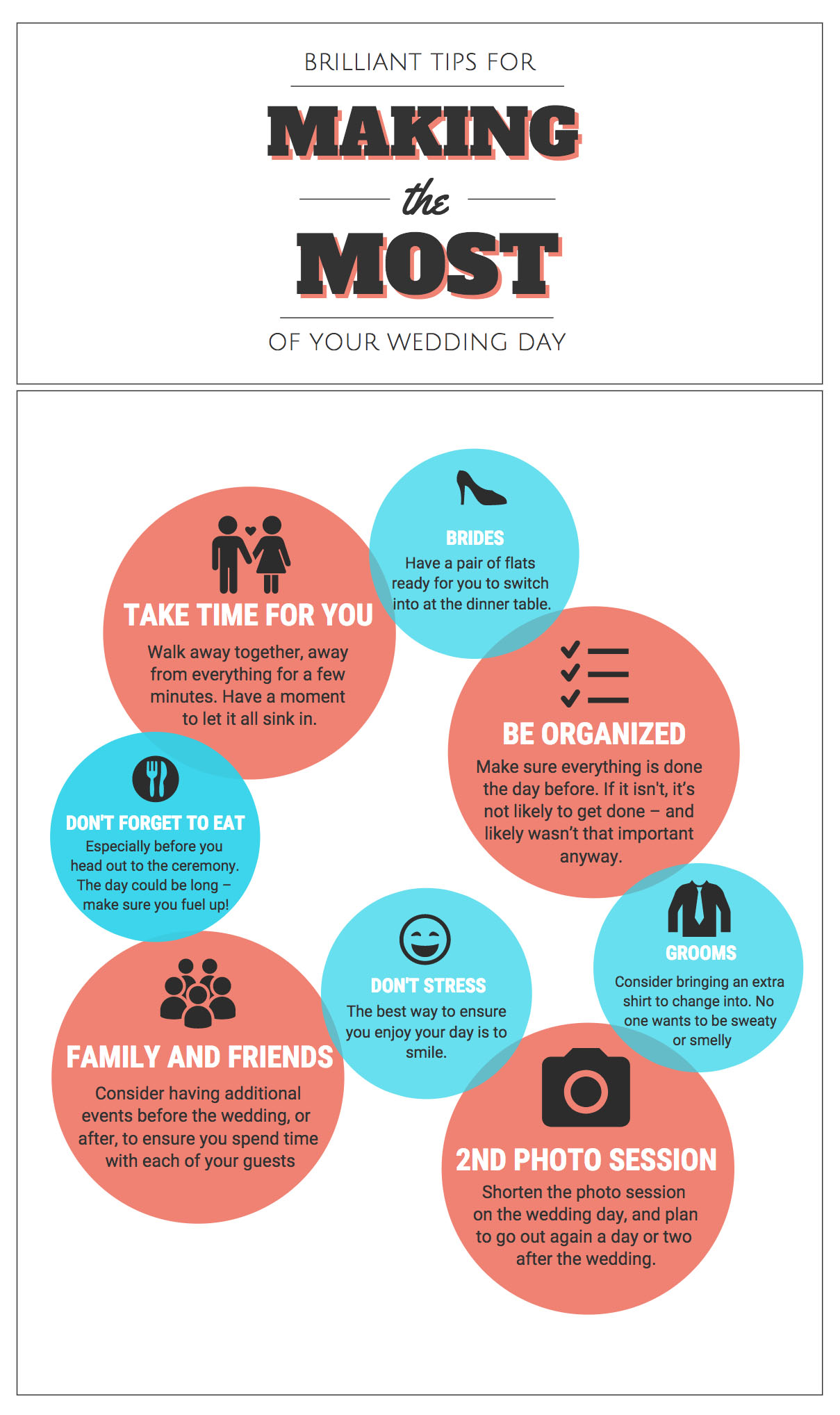 Brilliant Tips for Making the Most of your Wedding Day