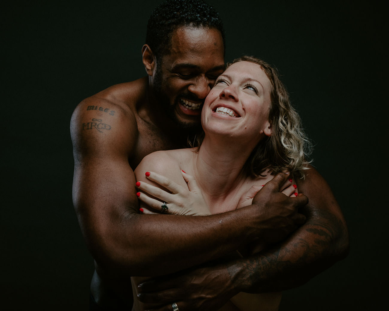 intimate couples photo session